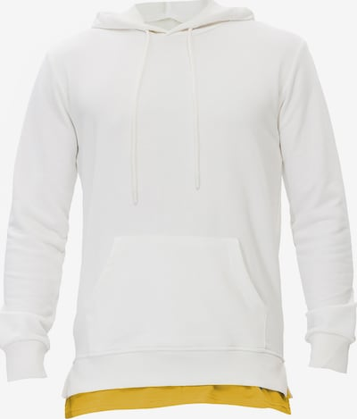 Tom Barron Sweatshirt in gelb / weiß, Produktansicht