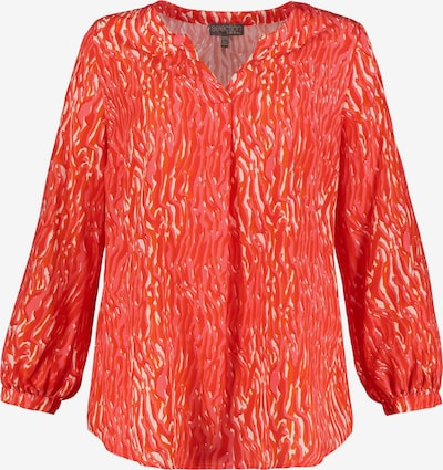 Ulla Popken Bluse in rot, Produktansicht