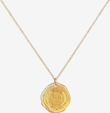 KUZZOI Halskette Vintage in Gold