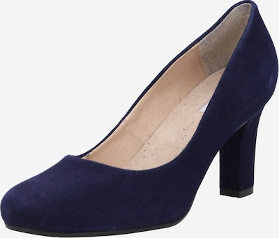 Dune LONDON Pumps 'Ashen' in navy, Produktansicht