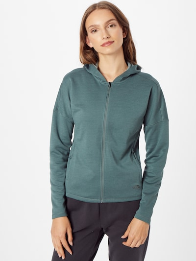 THE NORTH FACE Sportsweatjacke in jade: Frontalansicht