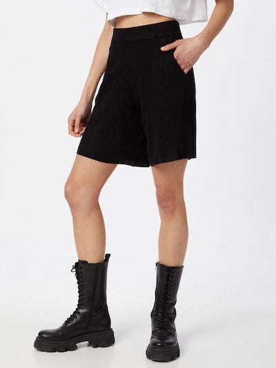 ICHI Broek in de kleur Zwart, Modelweergave