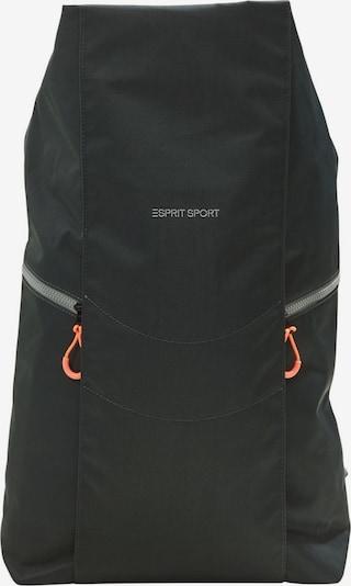 ESPRIT Sac à dos en vert / orange / noir / blanc, Vue avec produit