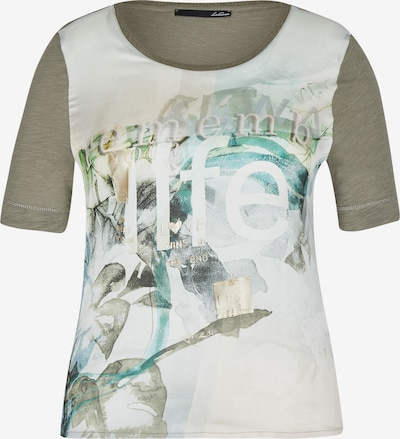 Lecomte Shirt in blau / taupe / weiß, Produktansicht