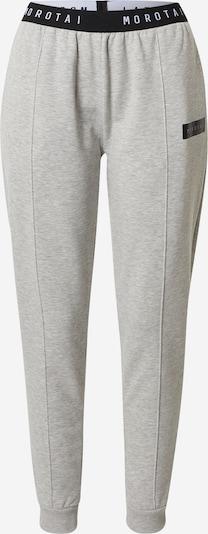 MOROTAI Спортен панталон 'NAKA' в сиво / черно, Преглед на продукта