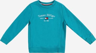 TOMMY HILFIGER Sweatshirt in navy / türkis / rot / weiß, Produktansicht