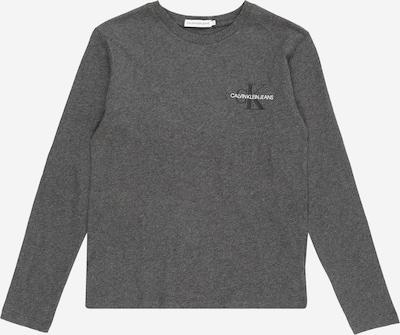 Calvin Klein Jeans Shirt in dunkelgrau, Produktansicht