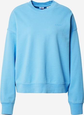 LEVI'S Sweatshirt in Blue