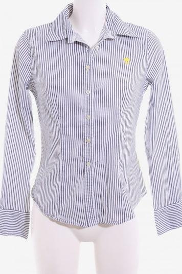 POLO SYLT Langarmhemd in M in blau / weiß, Produktansicht