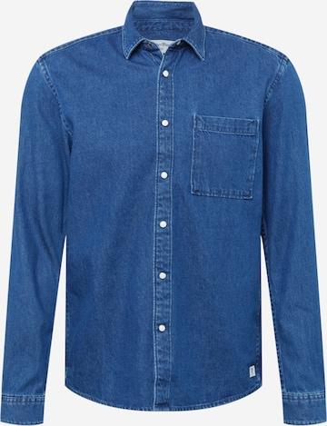TOM TAILOR DENIM Triiksärk, värv sinine