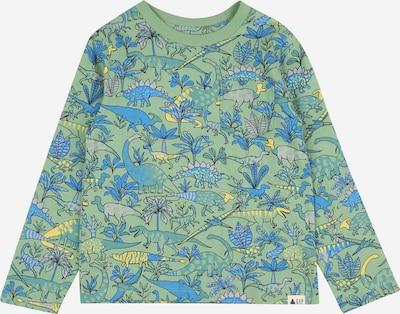 GAP Shirt in blau / gelb / jade, Produktansicht