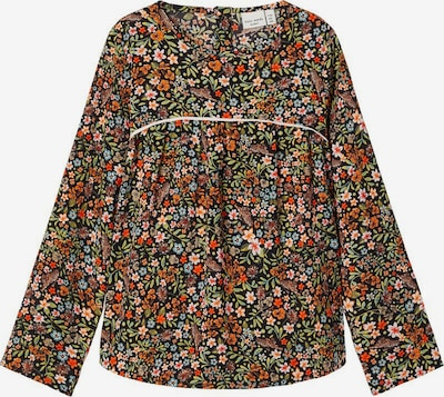 NAME IT Blumenprint Bluse in mischfarben / orange, Produktansicht