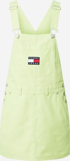Tommy Jeans Suknja s tregerima 'DUNGAREE' u limeta, Pregled proizvoda