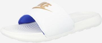 Nike Sportswear Pantolette 'Victori One' i vit