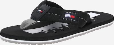 Flip-flops TOMMY HILFIGER pe negru, Vizualizare produs