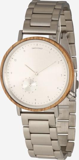 TAKE A SHOT Analógové hodinky 'Harrison' - hnedá / strieborná, Produkt