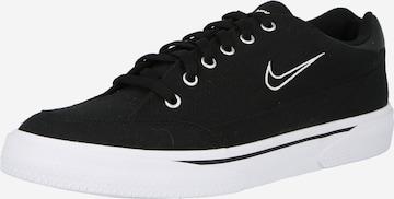 melns Nike Sportswear Zemie brīvā laika apavi 'Retro'