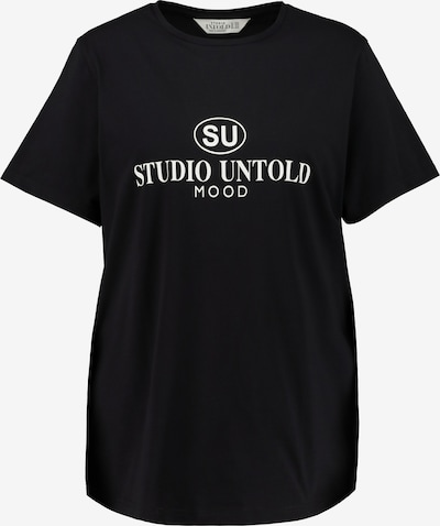 Studio Untold T-shirt i svart / vit, Produktvy