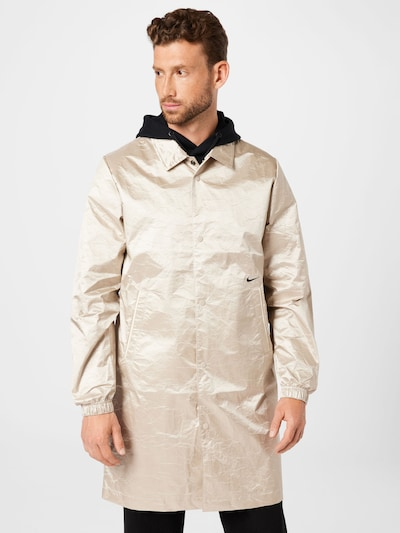 Nike Sportswear Mantel in puder / schwarz, Modelansicht