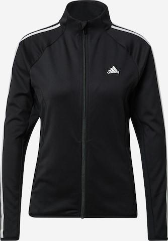 Giacca di felpa sportiva di ADIDAS PERFORMANCE in nero