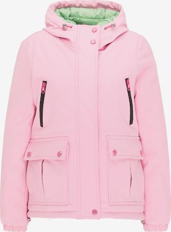 MYMO Χειμερινό μπουφάν σε ροζ