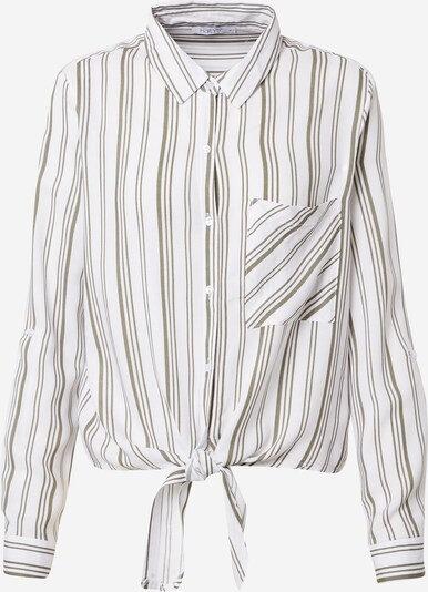 Bluză 'Coraly' Hailys pe kaki / alb, Vizualizare produs