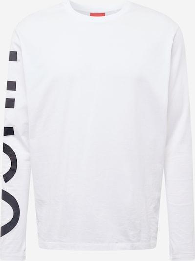 HUGO T-Krekls 'DEMEOS' melns / balts, Preces skats