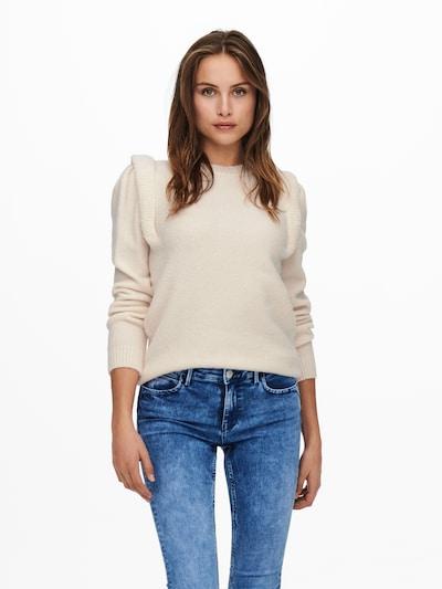 ONLY Pullover 'Sunflower' in beige, Modelansicht