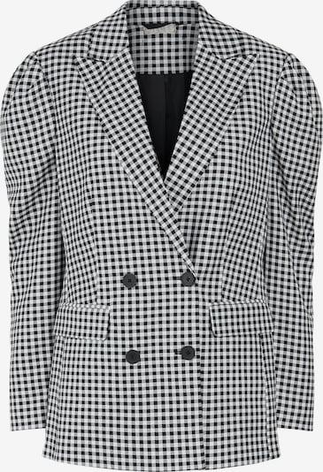PIECES Blazer en negro / blanco, Vista del producto