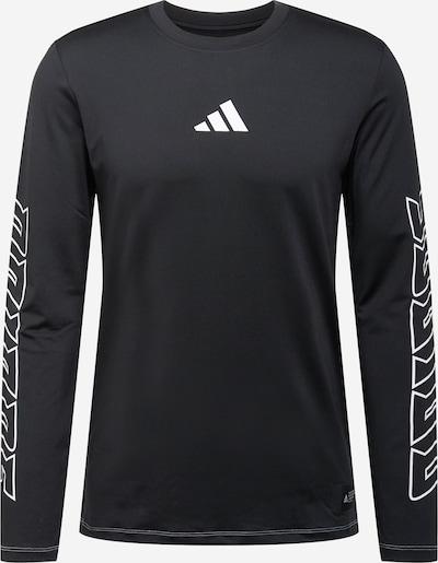ADIDAS PERFORMANCE Koszulka funkcyjna 'HYPE' w kolorze czarny / białym, Podgląd produktu
