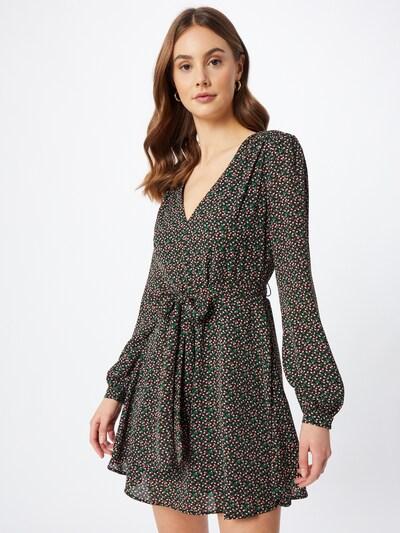 GLAMOROUS Kleid in mischfarben / schwarz, Modelansicht