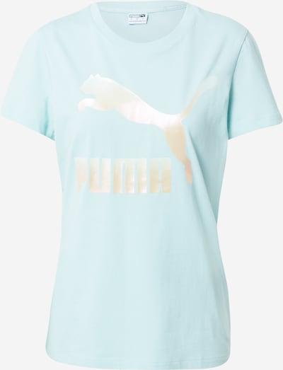 Tricou funcțional PUMA pe albastru deschis / auriu, Vizualizare produs