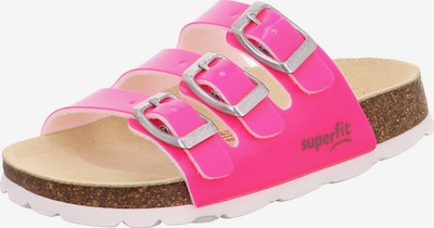 SUPERFIT Sandalias en rosa, Vista del producto