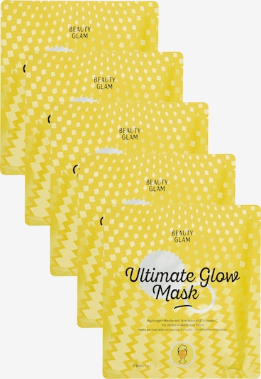 Beauty Glam Gesichtsreinigung 'ULTIMATE GLOW MASK' (5er Pack) in transparent, Produktansicht