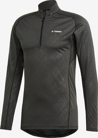 adidas Terrex Shirt in Grau