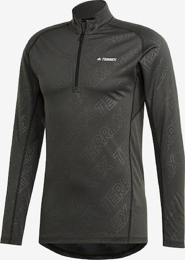 adidas Terrex Functioneel shirt in de kleur Donkergrijs, Productweergave
