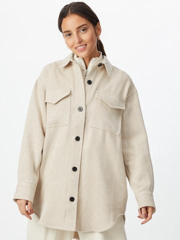 Manteau mi-saison 'Palermo' Designers Remix en marron