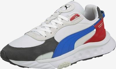 PUMA Nízke tenisky 'Wild Rider' - modrá / červená / čierna / biela, Produkt
