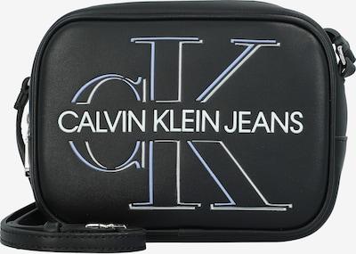 Calvin Klein Sac à bandoulière en bleu fumé / noir / blanc, Vue avec produit