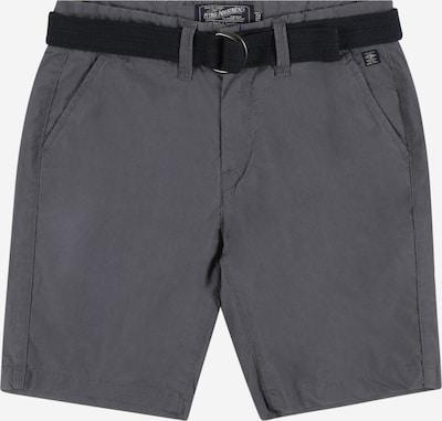 Petrol Industries Shorts in silbergrau / schwarz, Produktansicht