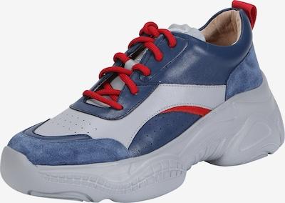 Ekonika Sneaker in blau / hellblau / rot, Produktansicht