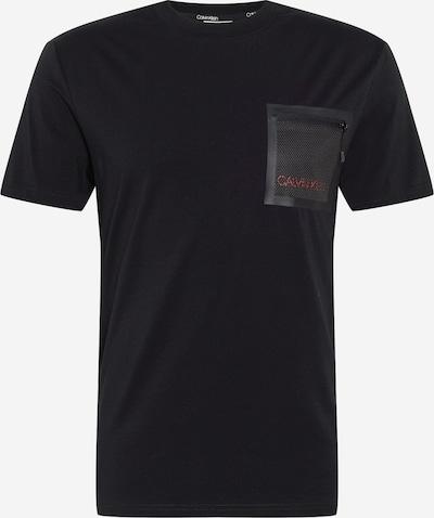 Maglietta Calvin Klein di colore rosso / nero, Visualizzazione prodotti