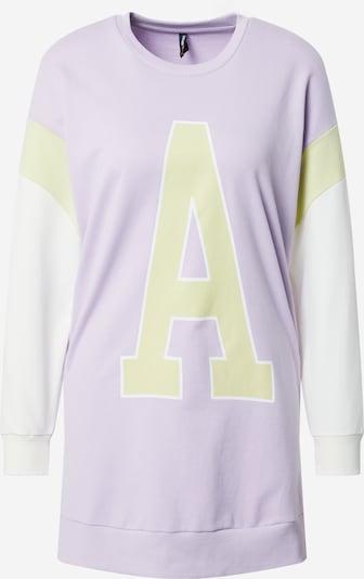 DeFacto Sweatshirt in schilf / flieder / weiß, Produktansicht