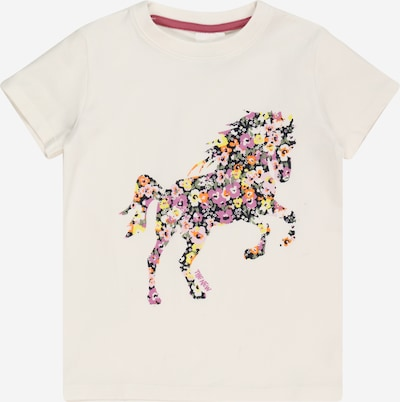 The New Shirt in mischfarben / weiß, Produktansicht