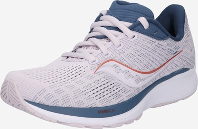 saucony Sports shoe 'Guide 14' in violet / Orange / mottled white, Item view
