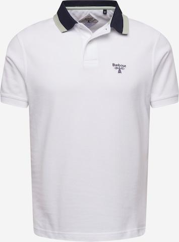 T-Shirt Barbour Beacon en blanc