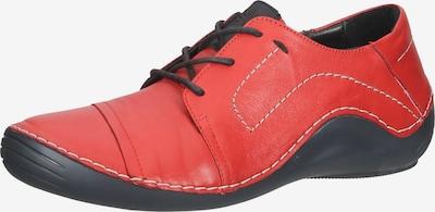 COSMOS COMFORT Sportlicher Schnürschuh in pastellrot / schwarz, Produktansicht
