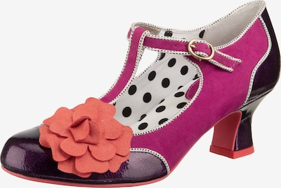 Ruby Shoo Pumps ' Marcie' in lila / dunkellila / orange, Produktansicht