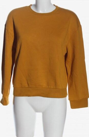 ZARA Sweatshirt in S in hellorange, Produktansicht