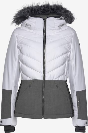 ICEPEAK Sportjacke 'ELECTRA' in grau / schwarz / weiß, Produktansicht
